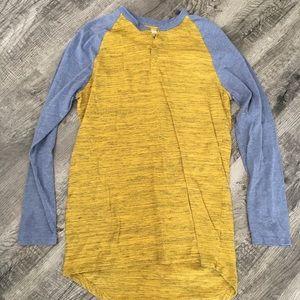 PRICE DROP! 🔥NWOT LuLaRoe Mark long sleeved shirt